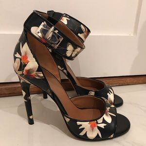 GIVENCHY FLORAL SANDALS